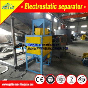 High Voltage Two Roller Electrostatic Separating Machine for Zirconium Ore pictures & photos