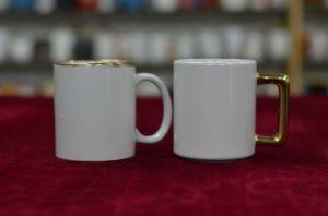 Golden Rim Mug and Square Handle Mug pictures & photos
