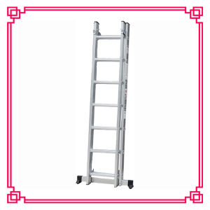 2 Section Aluminum Extension Ladder /Household Combination Ladder pictures & photos