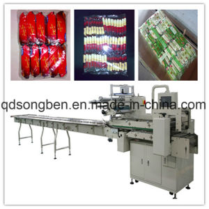 Multi-Rows on Edge Packaging Machine for Cracker pictures & photos