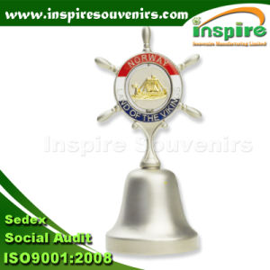 Custom Oil-Filled Finish Zinc Alloy Metal Dinner Bell Souvenir (DBS 101) pictures & photos