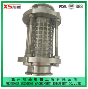 76.2mm Stainless Steel Ss316L Sanitary Food Grade Straight Pipeline Sight Glass pictures & photos