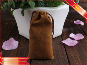 Eyeglass Packing Bag Velvet String Bag Gift Bag pictures & photos