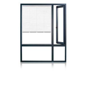 Feelingtop Middle East Standard Tilt Turn/ Casement Aluminum Wood Window pictures & photos