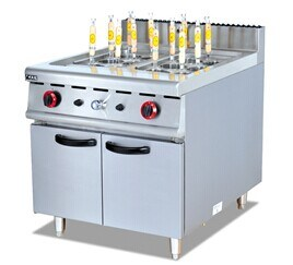 Gas Pasta Cooker with Cabinet (GH-988) pictures & photos