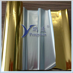 Gold Hairline VMPET Film for Packaging pictures & photos