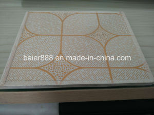 PVC Lamited Gypsum ceiling Tiles/PVC Gypsum ceiling Tiles 603X603X7mm pictures & photos