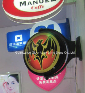 Vacuum Double Sides Rotating Light Box LED Sign pictures & photos