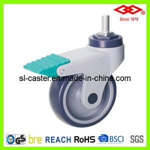 125mm Swivel Screw Locking Castor Wheel (L502-39C125X32IS) pictures & photos