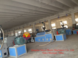 Plastic Cabinet Foam Board Extrusion Machine pictures & photos