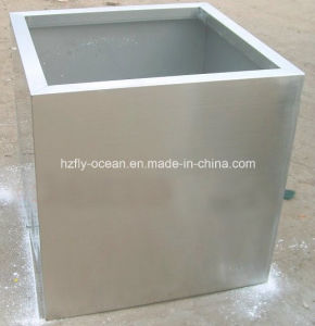 Large Square Stainless Steel Flower Pots pictures & photos