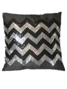 Decorative Pillow Case Sr-C170223-12 High Fashion Sequin Decorative Cushion pictures & photos
