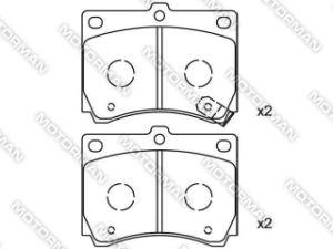 D473-7353 Brake Pad for Mazda 323 P V 1996/10 - 1998/09