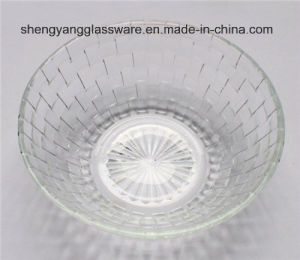 Emboss Banding Glass Bowl / Decorative Bowl pictures & photos