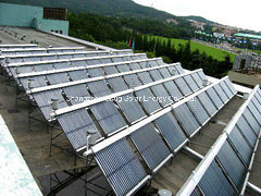 Heat Pipe Solar Collector Hot Water Project pictures & photos