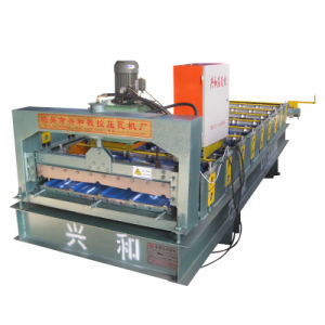Roof Sheet Steel Tile Roll Forming Machine pictures & photos