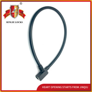 Jq8201 High Quality Safety Bicycle Lock Motorcycle Steel Cable Lock pictures & photos