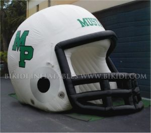 Inflatable Helmet Tunnel /Inflatable Helmet /Inflatable Sports Tunnel B7014 pictures & photos