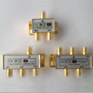 CATV Splitter 5-1000MHz Gold Plating for Russia Market pictures & photos