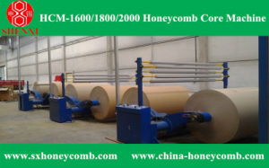 Hcm-1600 Honeycomb Core Making Machine pictures & photos