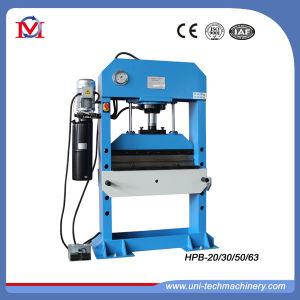 Power Operated Hydraulic Press Machine with Bending Function (HPB-63) pictures & photos
