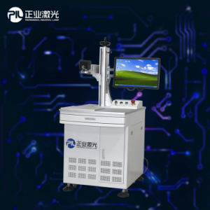 China Famous Brand Metal Marking Machine by Fiber Laser pictures & photos
