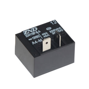 Zd4115p (T93) A4m Power Relay for Industrial Machine Components Use Miniature Relay Contact Switch 30A pictures & photos