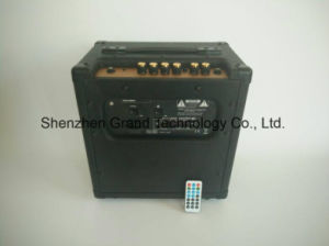 2017 New Electric Guitar Amplifier with USB and Bluetooth (GA-30USB) pictures & photos