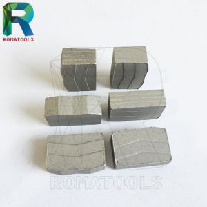 Sand Blasted Diamond Segments for Granite Stone Cutting pictures & photos