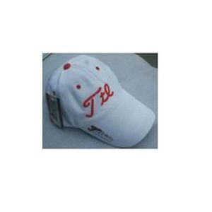Red/White Net Golf Cap for Men Adjustable pictures & photos