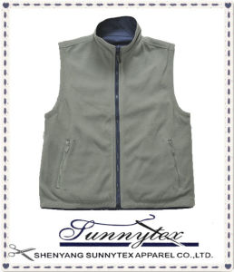 Unisex Garments Polar Fleece Reversible Vest pictures & photos