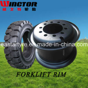 5.00s-12 Split Wheel for Forklift, Forklift Tyre Rim, Wheel Rim pictures & photos