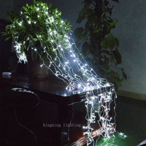 LED Curtain Waterfall String Light for Christmas Wedding Party Decoration