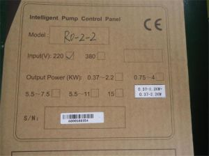 RO Controller, Single Phase, RO 2-2 pictures & photos