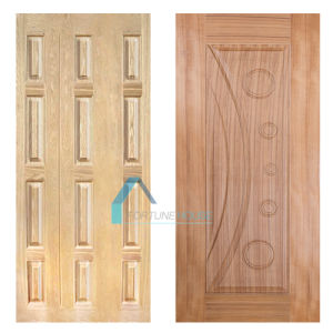 Firsthand Factory Supply HDF Door Skin with Ash and Red Oak Veneer pictures & photos