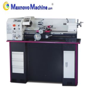 Variable Precision Metal Machine Bench Mini Lathe with Dro (MM-TU2506V) pictures & photos