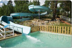 Professional Open Spiral Slide Amusement Park Slides pictures & photos