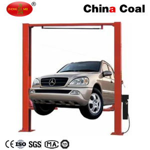 Factory Price 1800mm Lifting Height Ground Two Post Car Lift pictures & photos