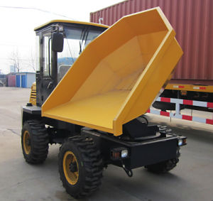 3.0ton Site Dumper with 180 Degree Turning Bucket pictures & photos