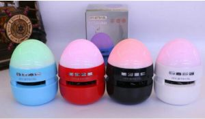 Egg-Like LED Colorful Lights Wireless Bluetooth Speaker pictures & photos