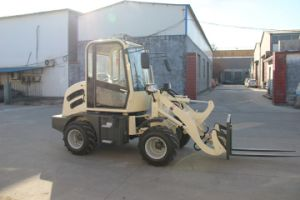 Hzm Mini Wood Saw Machine Factory Mini Wheel Loader pictures & photos