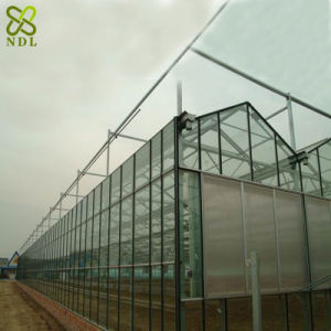Modern Farm Equipment Wind Resistant Glass Greenhouse pictures & photos