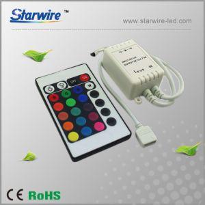 24-Key Infrared RGB LED Controller 12V/24V pictures & photos