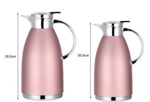 18-8 (304) Stainless Steel Double Wall Vacuum Teapot (TT-002) pictures & photos