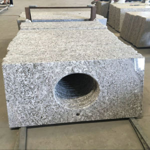 Brazil White Granite Bianco Antico Granite Bathroom Vanity Top pictures & photos