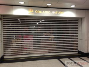 Polycarbonate See-Through Rolling Shutter (PC6) pictures & photos
