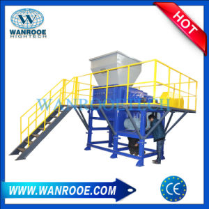 PVC Flooring/ Teflon Waste/ Plastic Waste / Lumps Four Shaft Shredder pictures & photos