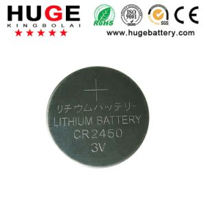 3V power Lithium Button Cell Battery for watch CR2450 pictures & photos
