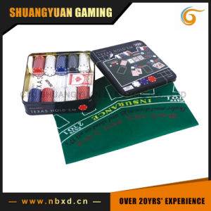 200PCS Texas Hold′em Poker Chip Set (SY-S36) pictures & photos