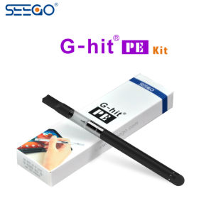 Seego G-Hit PE Disposable Portable Cbd Vape Pen with Touchscreen End pictures & photos
